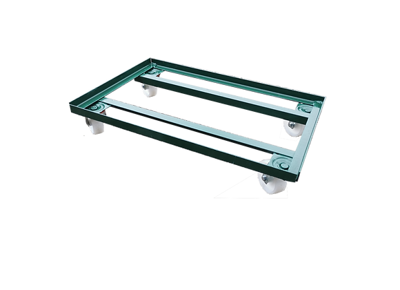 TK01101MD METAL DOUBLE DOLLY FOR SMALL AND LARGE BOTTLE CRATE FULLY ENCLOSED