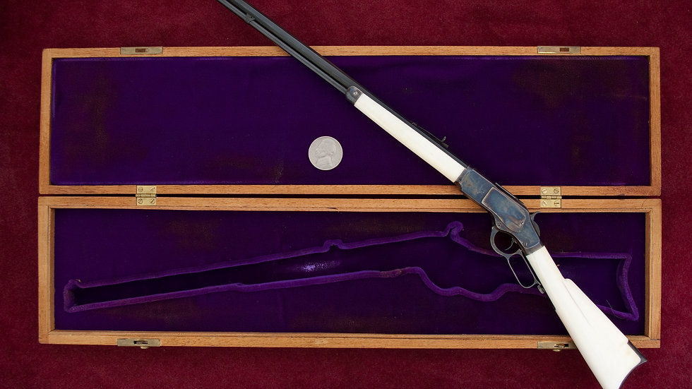 Winchester 1873 Ivory stock