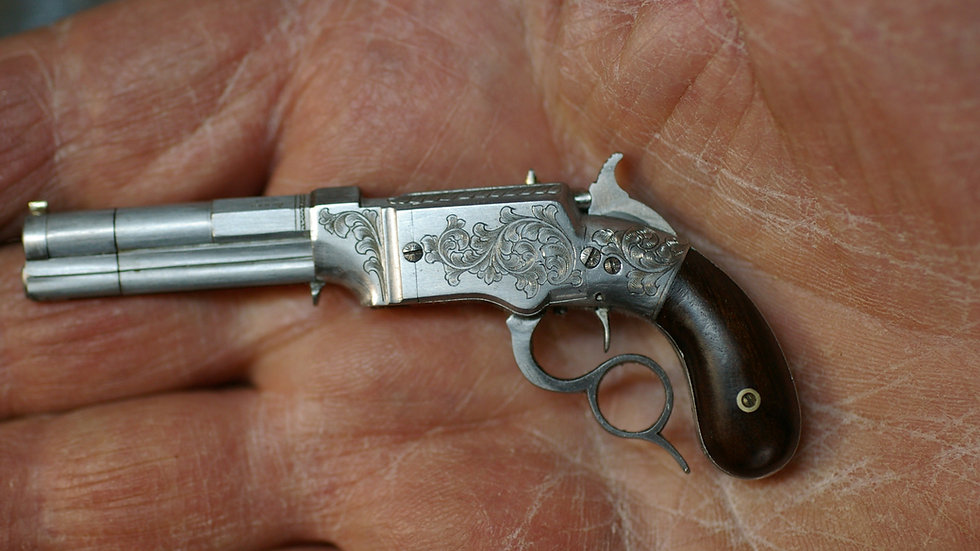 Smith and Wesson, lever action, bag grip
