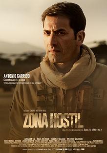 POSTER TEASER ANTONIO GARRIDO ZONA HOSTIL