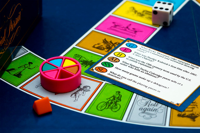 Trivial Pursuit game board