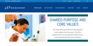 Danaher Shared Purpose and Core Values