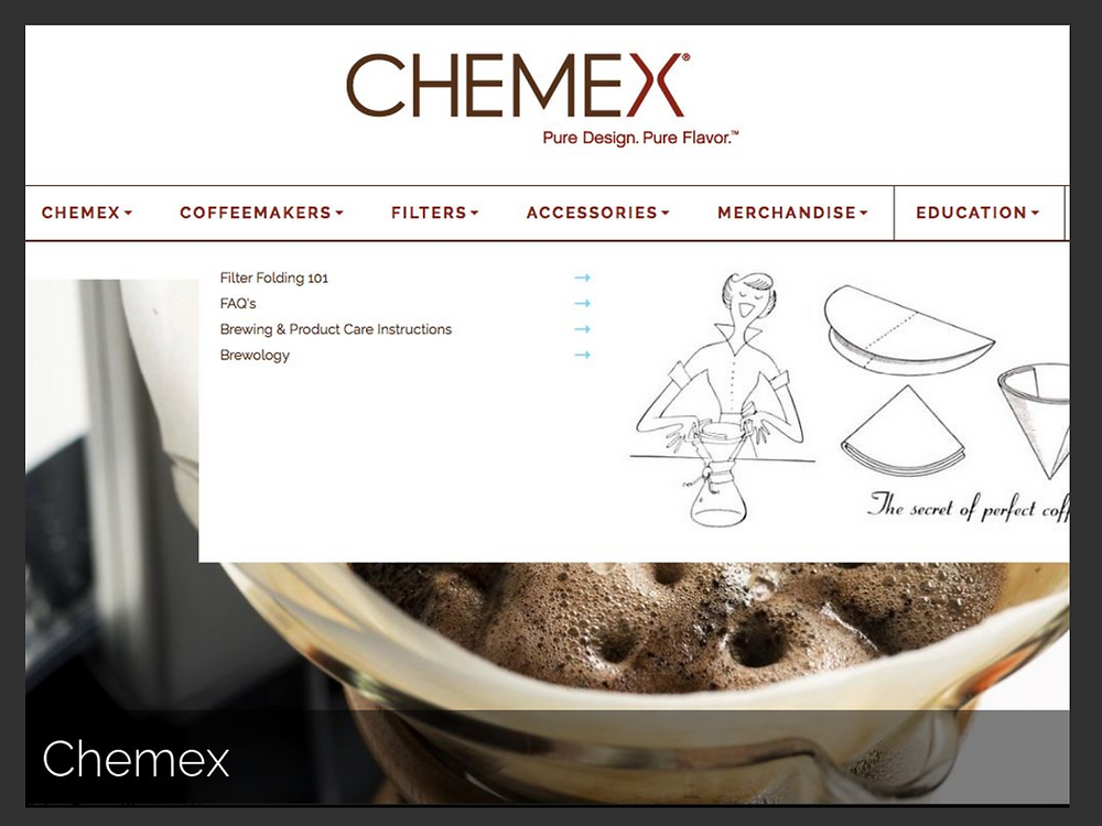 Chemex - Example of Sage archetype