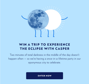 Win a Trip to Experience the Eclipse with Casper