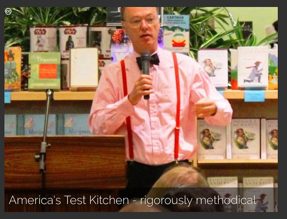 America's Test Kitchen, example of Sage Archetype - Creative Commons image by LCBGlenn