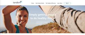 Tandem home page