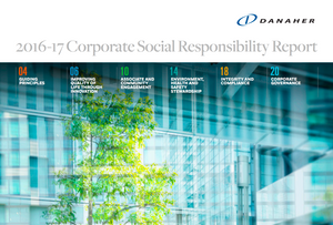 Danaher Corporate Social Responsibility Report