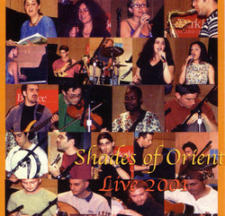 Shades of Orient, Fall 2001- line up