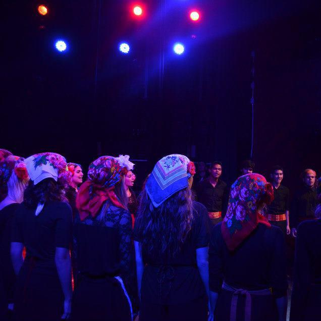 Balkan Choir live at the BPC, 2012