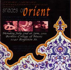 Shades of Orient, Summer 2001