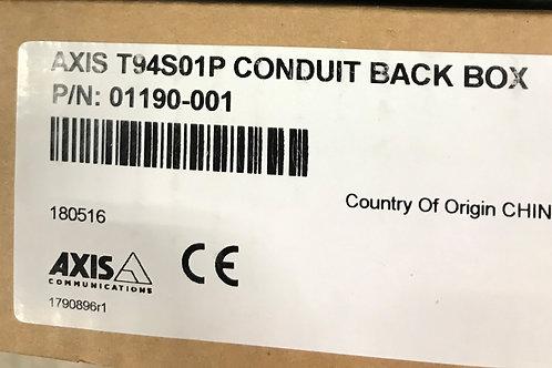 Axis T94S01P Conduit Back Box – P/N: 01190-001