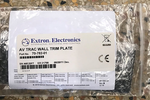 Extron Finished-Wall Trim Plate for AVTrac – P/N: 70-782-01