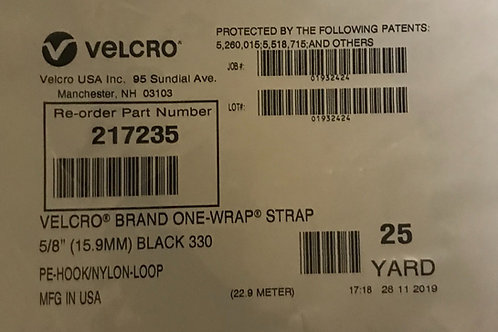 Velcro Brand One Wrap 217235 – 75ft x 0.625in, Black