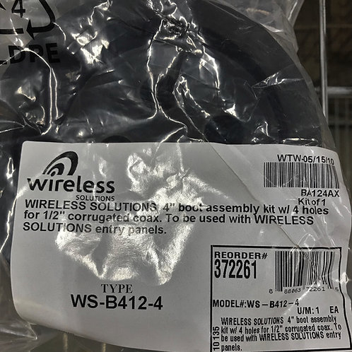 """Wireless Solutions WS-B412-4, 4""""Boot Assembly Kit"""