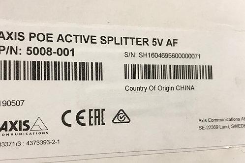 Axis POE Active Splitter 5V AF PN: 5008-001
