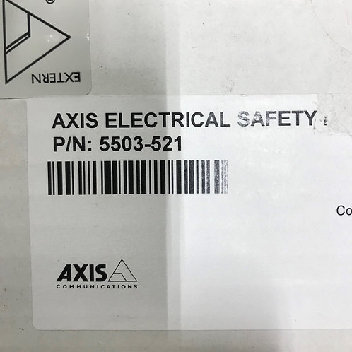 AXIS Electrical Safety kit A 120 V AC – PN: 5503-521