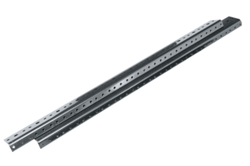 Middle Atlantic ERK Rear Rail Kit, ERK-RR44 (2 pieces), Black