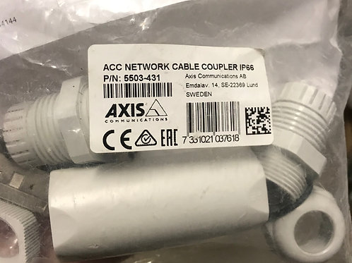Axis Network Cable Coupler IP66 PN: 5503-431