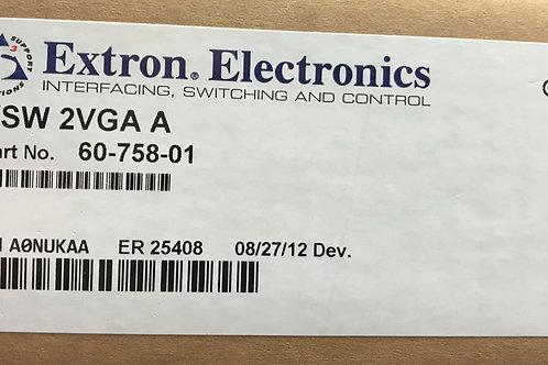Extron VSW 2VGA A, PN: 60-758-01