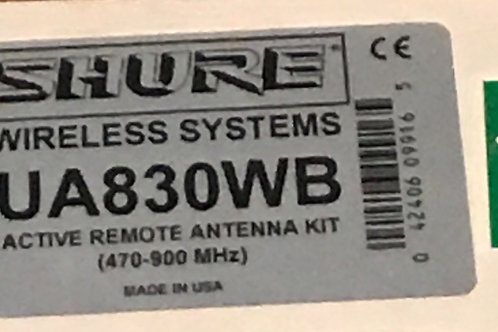 Shure UA830WB Wideband Active Remote Antenna Amplifier