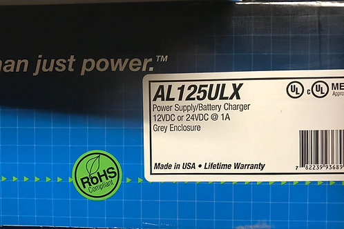 Altronix AL125ULX Power Supply/Battery Charger 12VDC or 24VDC Grey Enclosure