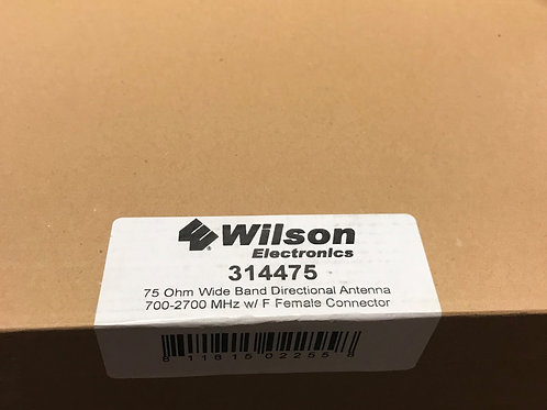 Wilson Electronics 75 Ohm Wide Band Directional Antenna – 314475