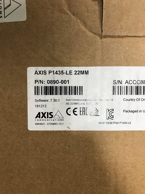 Axis P1435-LE 22MM – P/N: 0890-001