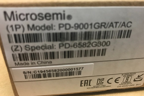 Microsemi PD-9001GR/AT/AC Single-port Gigabit PoE Midspan