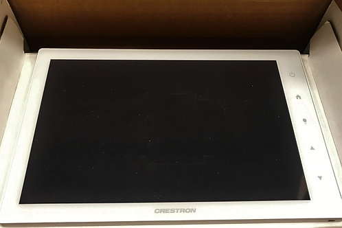 """Crestron 10.1"""" Touch Screen, White Smooth – P/N: TSW-1050-W-S"""