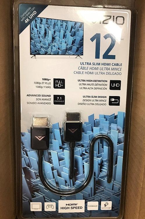 Vizio 12ft Ultra Slim HDMI Cable – PN: TXCH12X-C3