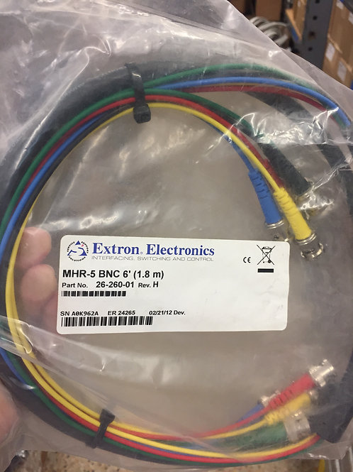 Extron Five Conductor Mini High Resolution Cable - Male to Male 6ft