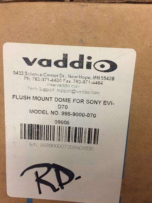 Vaddio Flush Mount Dome & Bracket 998-9000-070