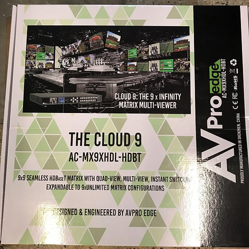 AVPro Edge Cloud 9 Matrix Multi-Viewer – P/N: AC-MX9XHDL-HDBT-GEN2