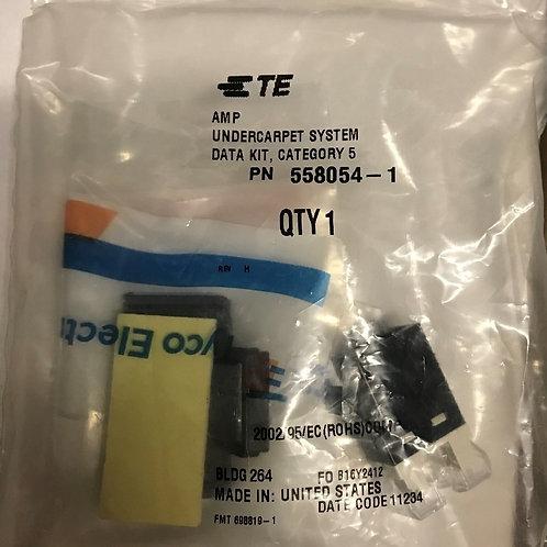 AMP NetConnect CAT5E Undercarpet System Data Kit – PN: 558054-1