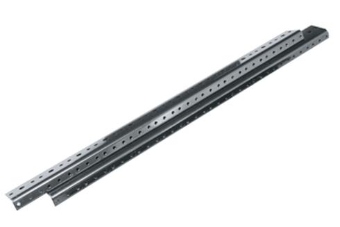 Middle Atlantic WRK 10-32 Threaded Rack Rail Series, WRK-RR44 (2 pieces), Black
