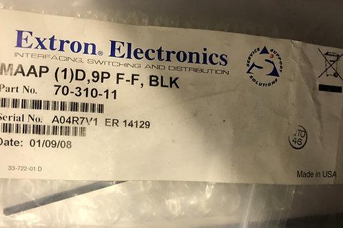 Extron Electronics MAAP (1)D, 9P F-F, Black  PN: 70-310-11