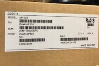 Alcatel-Lucent OmniAccess Wireless Access Point OAW-AP135