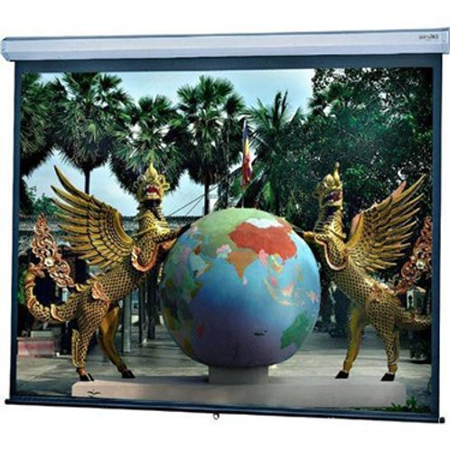 "Dalite 34738 (87x139"") Model C Manual Projection Screen"