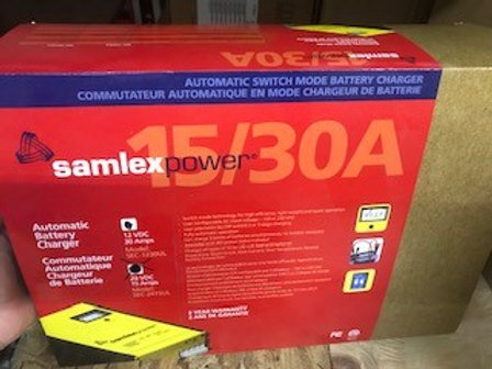 Samlex 30Amp 12 Volt Battery Charger