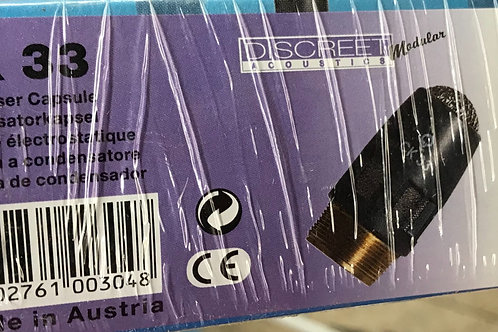 AKG CK33 HyperCardioid Condenser Microphone Capsule