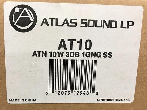 Atlas Sound LP AT10 ATN 10W 3DB 1GNG SS
