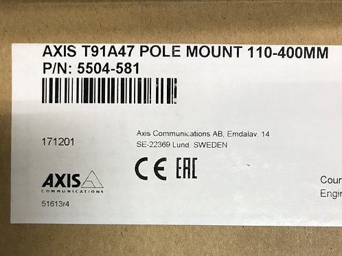 Axis T91A47 Pole Mount 110-400MM – P/N: 5504-581 (Product Discontinued)