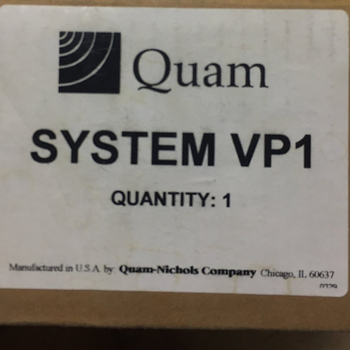 Quam System VP1 Wall Mount Speaker Assembly