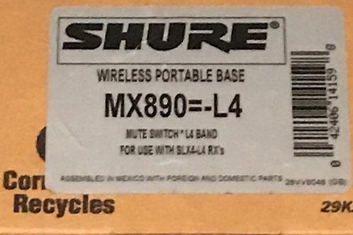 Shure MX890=-L4 Wireless Desktop Base with Internal Wireless Transmitter