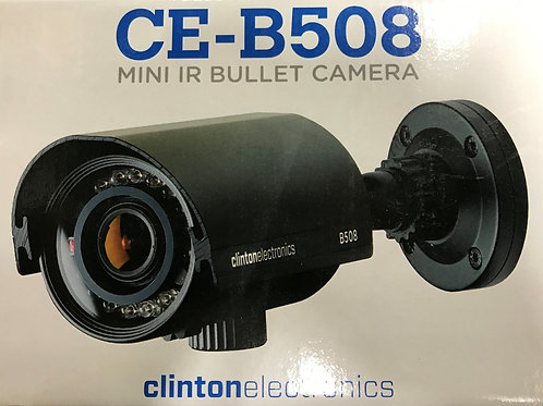 Clinton Mini IR Bullet Camera – P/N: CE-B508 (Product Discontinued)