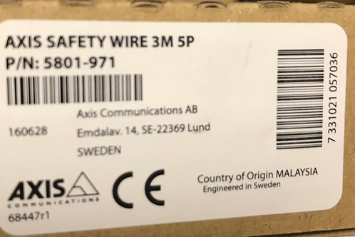 Axis Safety Wire 3M 5P, PN:5801-971
