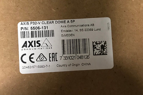Axis P32-V Clear Dome A 5P PN: 5506-131