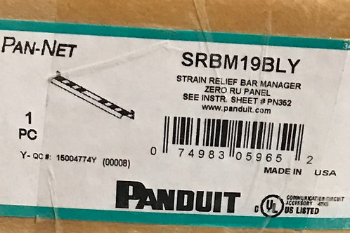 Panduit SRBM19BLY Strain Relief Bar Manager