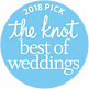 The Knot Best of Weddings 2018 Award