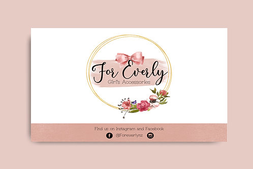 Business Card (double sided)